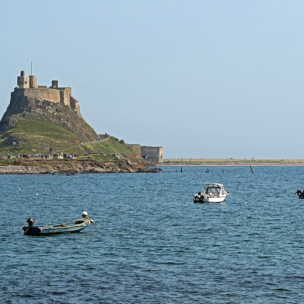 Graham Brewster Photography - Lindisfarne Photography Prints - Lindisfarne Castle