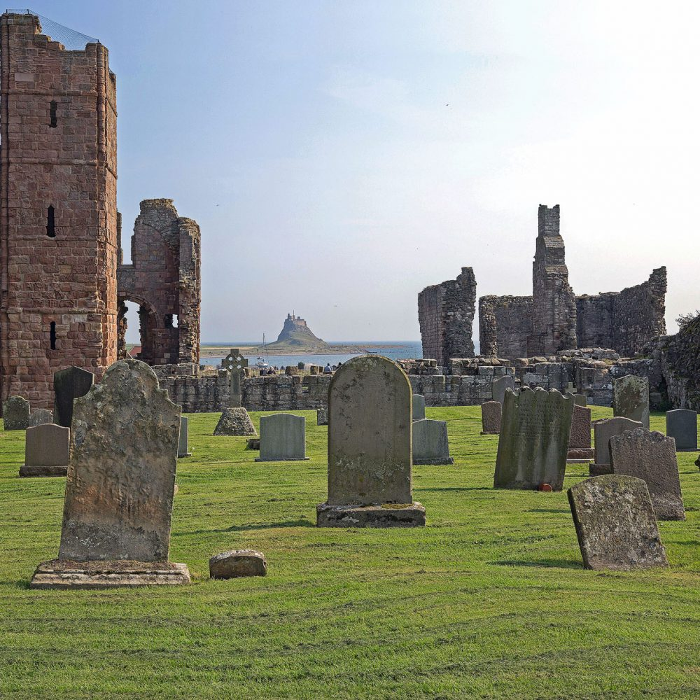 Graham Brewster Photography - Lindisfarne Photography Prints - Final Resting Place - Lindisfarne