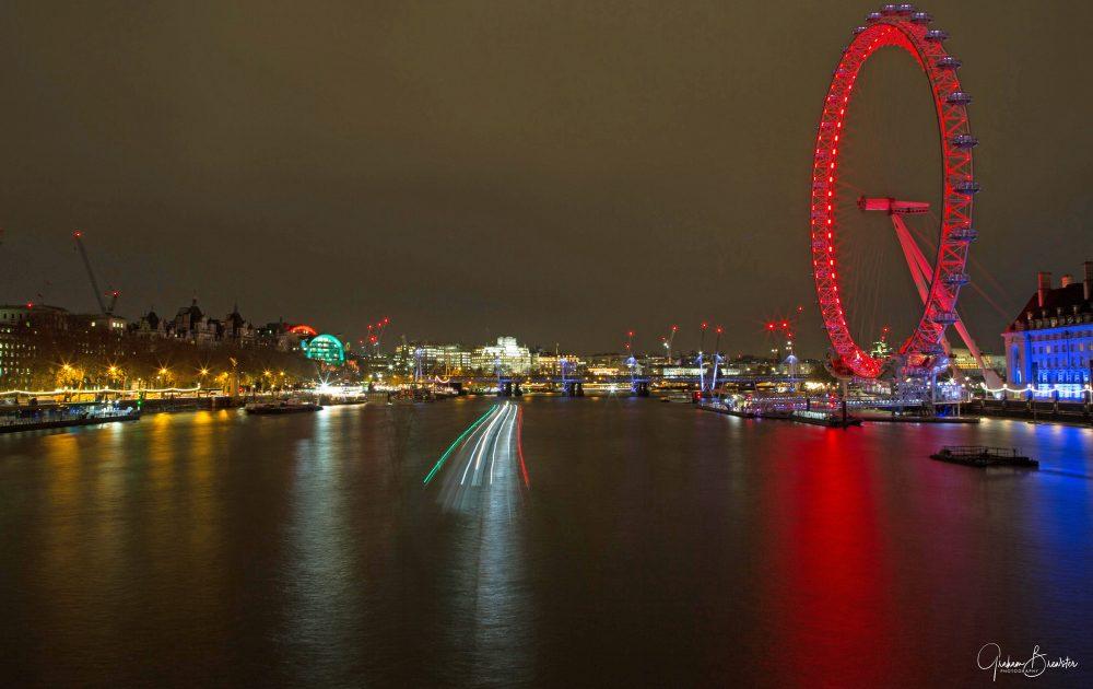 Graham Brewster Photography - London Prints - London Eye