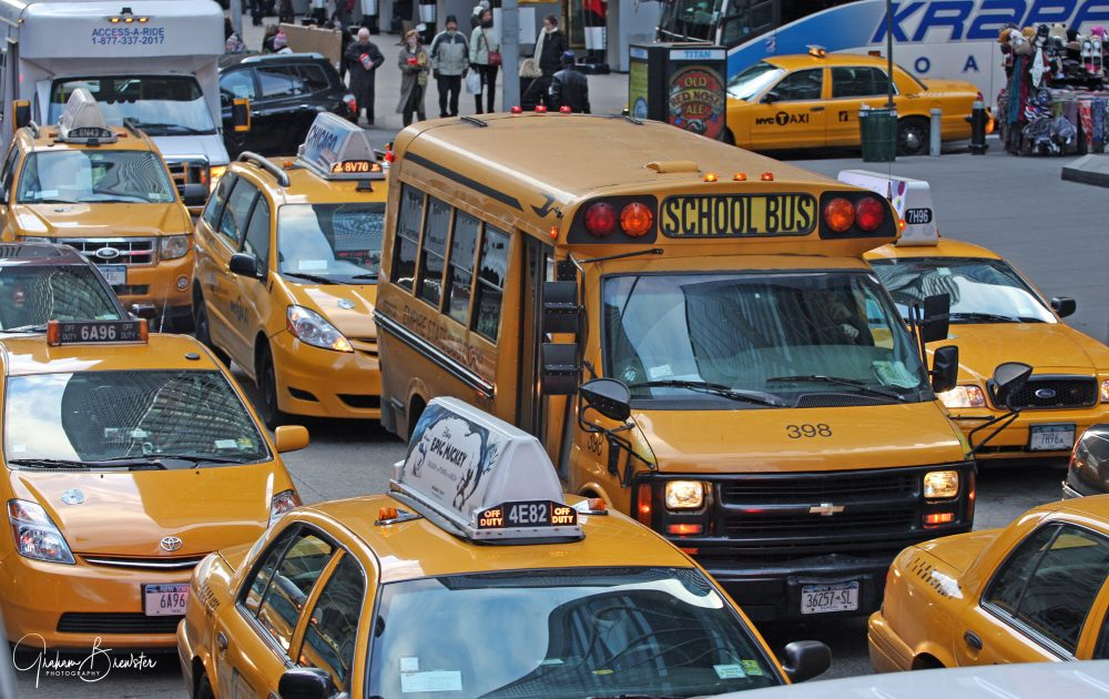 Graham Brewster Photography - New York Prints - New York City Taxi