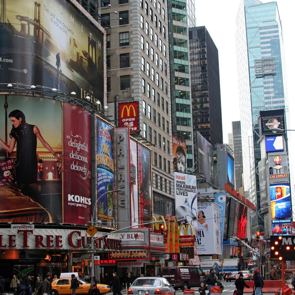 Graham Brewster Photography - New York Prints - Times Square