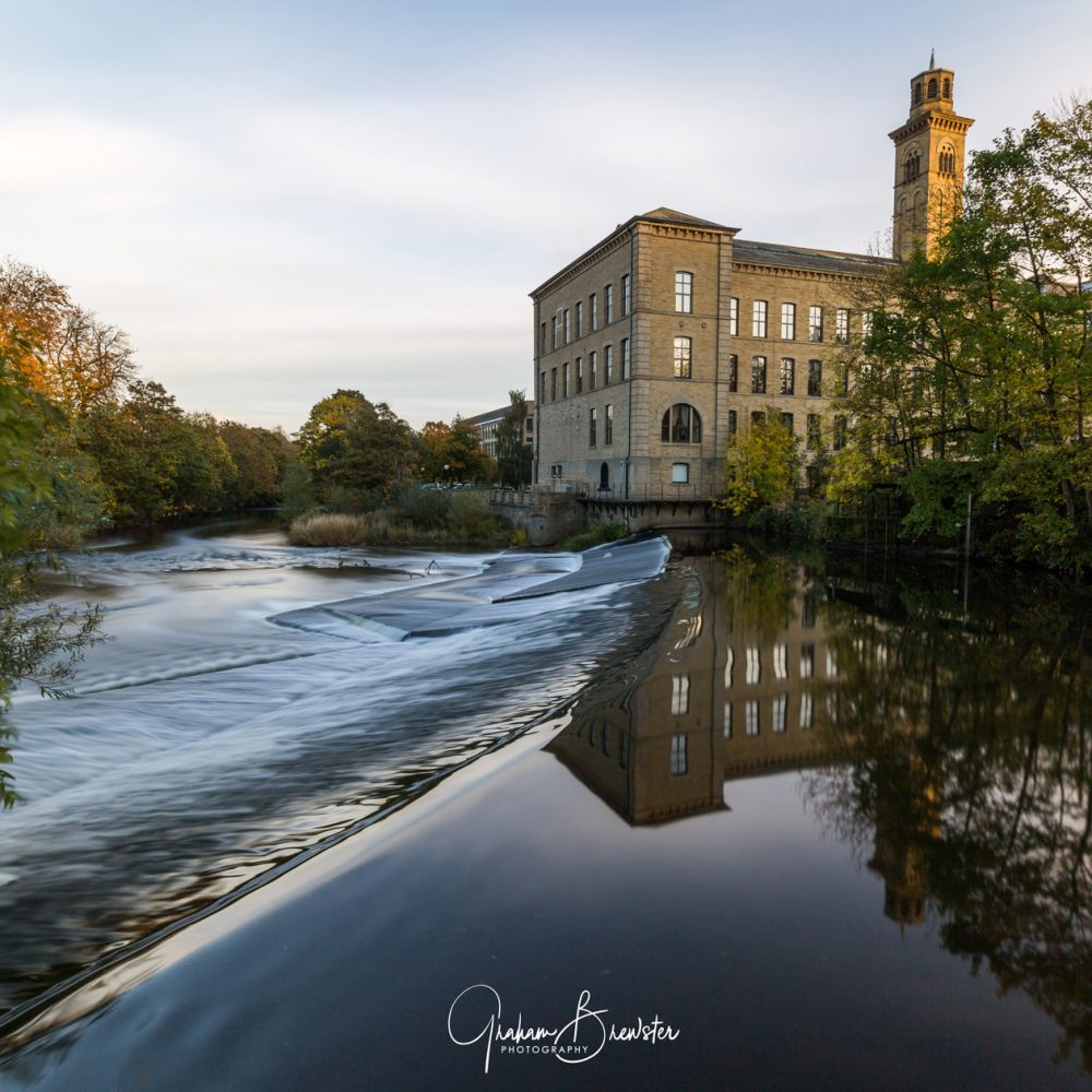 Graham Brewster Photography - Yorkshire Prints - Yorkshire Prints - The Weir - Saltaire